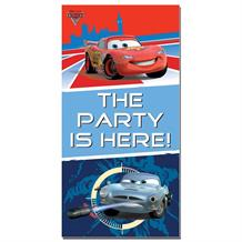 Disney Cars 2 Party Here Door Banner | Decoration