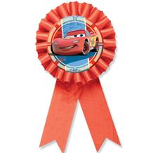 Disney Cars Award Ribbon Favour