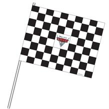Disney Cars Party Chequered Waving Flags