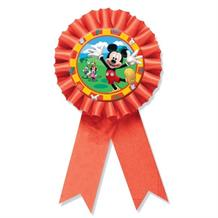 Mickey Mouse Award Ribbon Favour