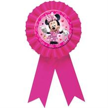 Minnie Mouse Award Ribbon Favour