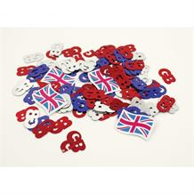 Union Jack | Great Britain Table Confetti | Decoration