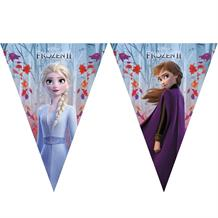 Disney Frozen 2 Party Triangle Flag Banner | Bunting
