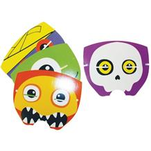 Boo Crew Halloween Card Party Mask Favours