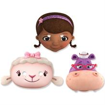 Doc McStuffins Card Party Mask Favours