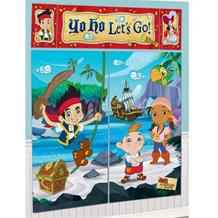 Jake Neverland Pirates Giant Scene Setter Party Decoration