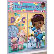 Doc McStuffins Giant Scene Setter Party Decoration