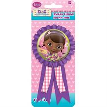 Doc McStuffins Award Ribbon Favour