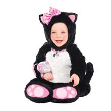 Little Kitty Cat Baby Jumpsuit Dress Up Costume