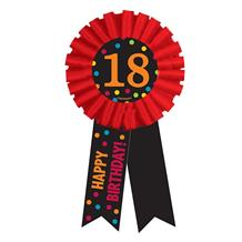 Chevron 18th Birthday Award Ribbon Favour