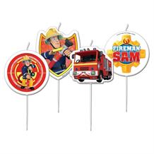 Fireman Sam Party Cake Candles | Decorations