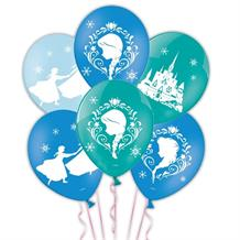 Disney Frozen 4 Sided Party Latex Balloons