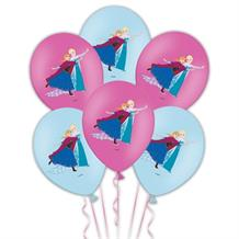 Disney Frozen Colour Print Party Latex Balloons