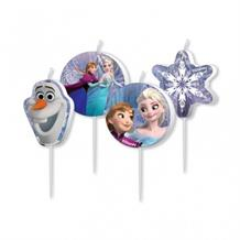 Disney Frozen Anna, Elsa Party Cake Candles | Decorations