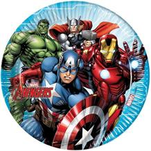 Mighty Marvel Avengers 23cm Party Plates