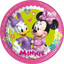 Minnie Mouse Happy Helpers Party Cake Plates
