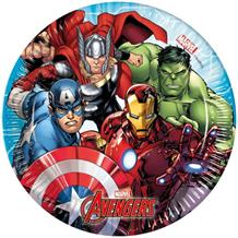 Mighty Marvel Avengers Party Cake Plates