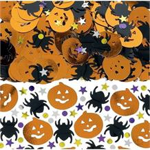 Halloween Metallic Mix Ghosts Spiders Party Table Confetti | Decoration