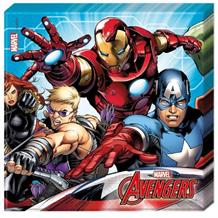 Mighty Marvel Avengers Party Napkins | Serviettes