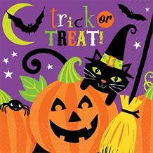 Witches Crew Halloween Party Napkins | Serviettes