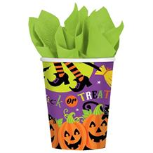 Witches Crew Halloween Party Cups