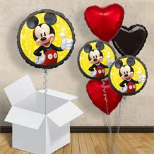"Mickey Mouse Black 18"" Balloon in a Box"