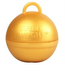 Gold Bubble Balloon Weight 35g Table Centrepiece | Decoration (Bulk)