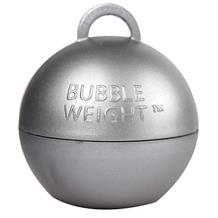 Silver Bubble Balloon Weight 35g Table Centrepiece | Decoration (Bulk)