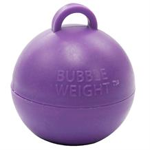 Purple Bubble Balloon Weight 35g Table Centrepiece | Decoration (Bulk)