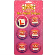 Hen Party Night Badges | Bride to Be