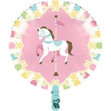 Carousel Party Foil | Helium Party Balloon