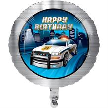 Police Party Foil | Helium Party Balloon