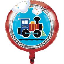 All Aboard | Train Party Foil | Helium Party Balloon