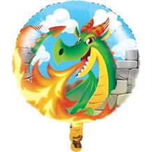 Dragons Party Foil | Helium Party Balloon