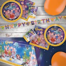 Clangers 8 to 48 Guest Premium Party Pack - Tableware | Balloons | Decoration