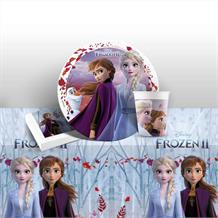 Disney Frozen 2 Starter Party Pack Tablecover | Plates | Cups | Napkins