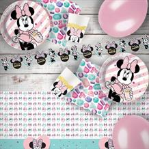 Minnie Mouse Gems 8 to 48 Guest Premium Party Pack - Tableware | Balloons | Decoration