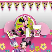 Minnie Mouse Happy Helpers Premium Party Pack - Tableware | Balloons | Decoration