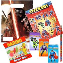 Star Wars Ep7 Ready Filled Party Bag with Sweets, Stickers + 2 Favours