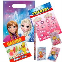 Disney Frozen Northern Lights Ready Filled Party Bag with Sweets, Stickers + 2 Favours