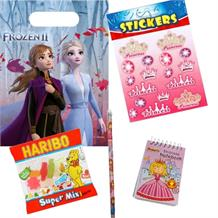 Disney Frozen 2 Ready Filled Party Favour Loot Bag with Sweets, Stickers + 2 Favours