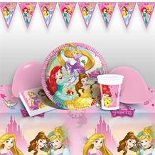 Disney Princess 8 to 48 Guest Premium Party Pack - Tableware | Balloons | Decoration