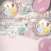 Disney True Princess 8 to 48 Guest Premium Party Pack - Tableware | Balloons | Decoration
