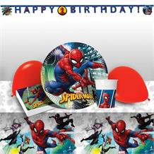 Spiderman Team Up 8 to 48 Guest Premium Party Pack - Tableware | Balloons | Decoration
