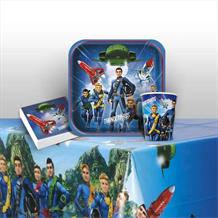 Thunderbirds 8 to 48 Guest Starter Party Pack - Tablecover | Cups | Plates | Napkins