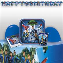 Thunderbirds 8 to 48 Guest Premium Party Pack - Tableware | Balloons | Decoration