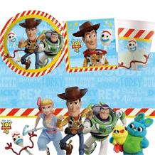 Toy Story 4 8 to 48 Guest Starter Party Pack - Tablecover | Cups | Plates | Napkins