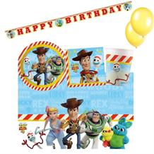 Toy Story 4 8 to 48 Guest Premium Party Pack - Tableware | Balloons | Decoration