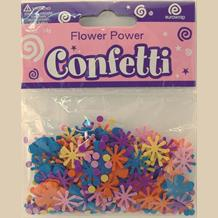 Flower Power Party Table Confetti | Decoration