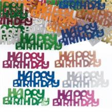 Happy Birthday Party Table Confetti | Decoration